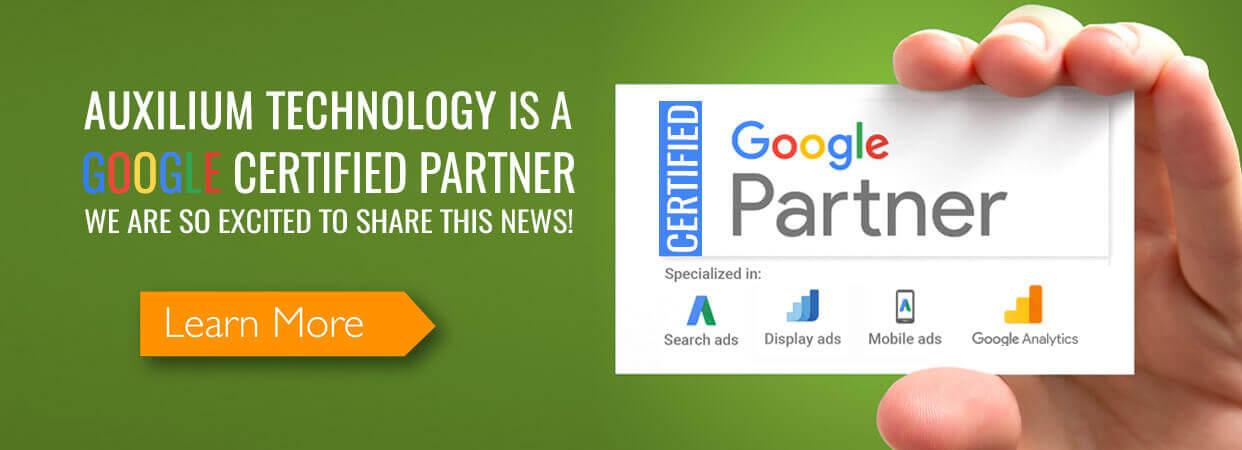 Auxilium Technology – Google Certified Partner